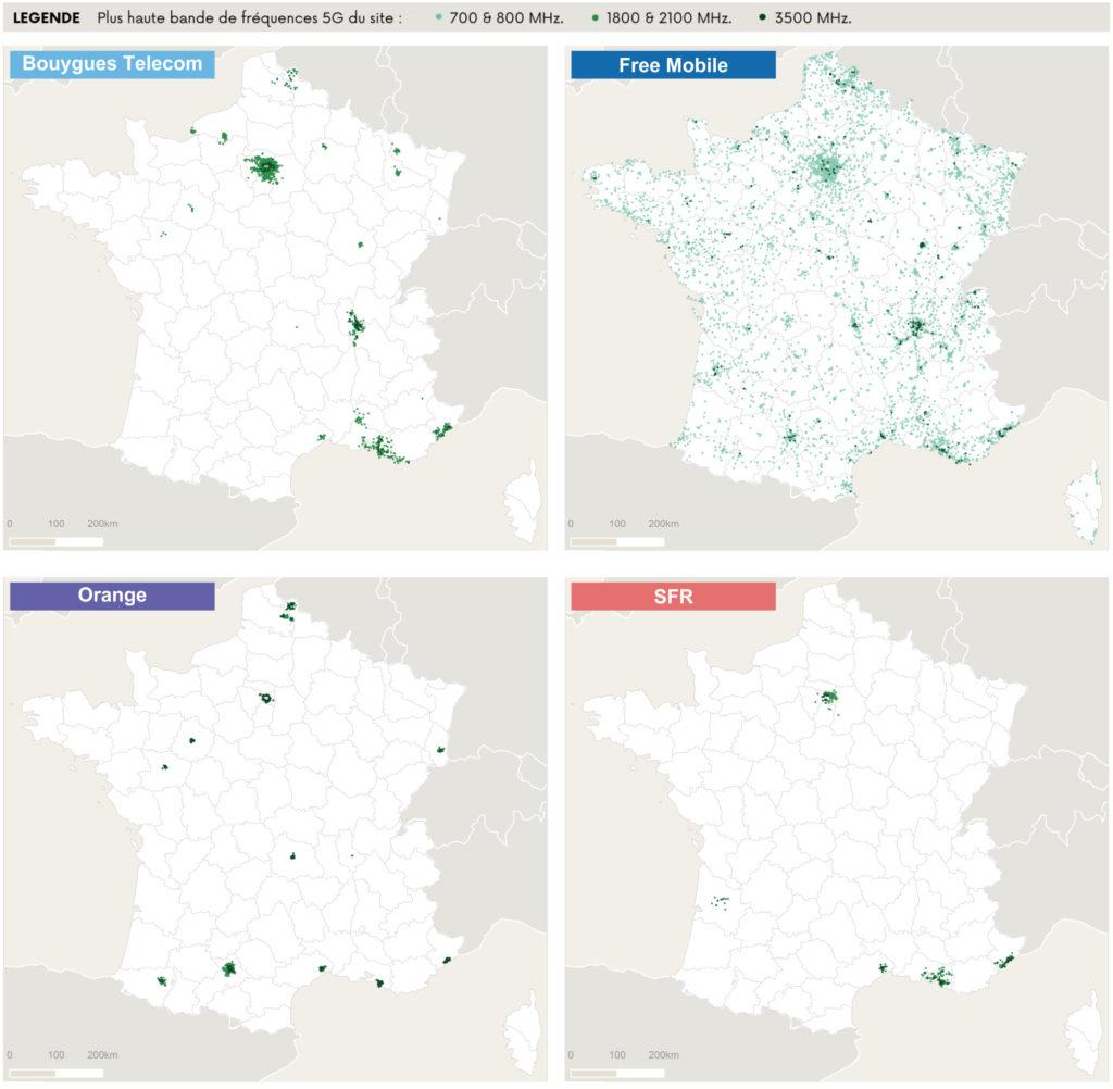 Cartographie des sites 5G